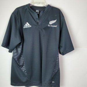 Adidas Mens XL New Zealand All Blacks 2007 Jersey